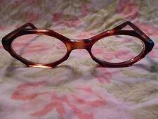 383d321be3 Vintage Swank Babette Tortoise Eyeglasses Eyeglass Frame Octagon Mod Modern