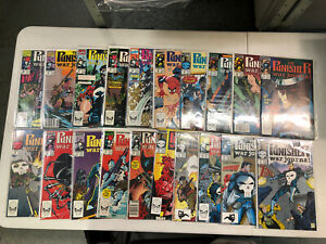 Punisher War Journal 1st series (1989) #1-80 (VF/NM) Complete Run Set Marvel