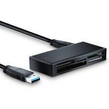 USB3.0 All-In-One Kartenleser schwarz, CSL Cardreader