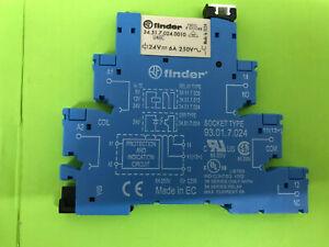 Finder 38.51.7.024 0050 Koppel Relais 24V DC  1 Wechsler 6A