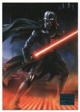 2018 Star Wars Galaxy Blue 55 Fury comes to Bespin Darth Vader