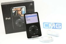 Apple iPod classic video 5.Generation 5G Schwarz 30GB voll funktionstüchtig #F56