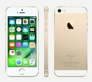 NEW GOLD TRACFONE 32GB APPLE IPHONE SE SMART PHONE JM04 B