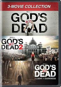 GOD`S NOT DEAD: 3-MOVIE COL...-GOD`S NOT DEAD: 3-MOVIE COLLE (US IMPORT) DVD NEW