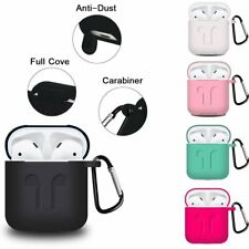 AirPods Silicone Case Cover Protective Skin for Apple Airpod Earphone Charging