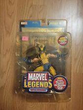 2002 ToyBiz Marvel Legends Series III Wolverine Gold Foil Poster Variant MOC