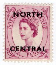 (I.B) Elizabeth II Commercial Overprint : North Central
