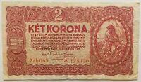 HONGRIE - 2 KORONA (1920) - Billet de banque (B)
