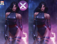 X-Men 2 DX Marvel Jeehyung Lee Psylocke Virgin Set Variant Powers House Of X