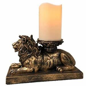 cantelabro antiguo clasico LEON para colocar velas