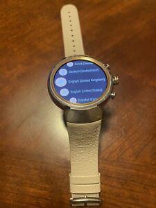 "Asus ZenWatch 3 WI503Q AMOLED 1.39"" Smart watch WiFi Beige Leather - Screen Burn"
