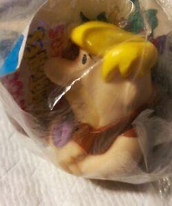 Barney Fun Squirters The Flintstones DENNY'S 1991 Barney Rubble Plastic toy