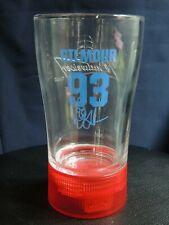 Budweiser Red Light Goal Glasses NHL Doug Gilmour 93 Maple Leafs 16 oz Glasses