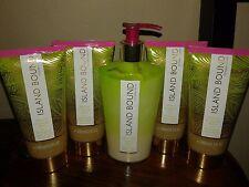 5x Victoria's Secret Island Bound Hibiscus & Melon Body Wash Lotion RARE Lot 5