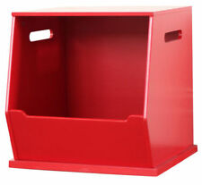 Red Toy Boxes for Children