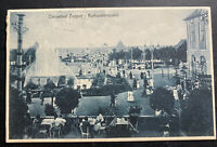 1920s Zoppot Danzig Real picture Postcard Cover To Poznan health resort terraces