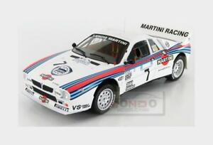 Lancia 037 Martini #7 Rally Acropolis 1983 M.Alen I.Kivimaki IXO 1:18 18RMC054B