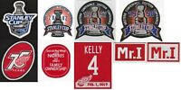 NHL Detroit Red Wings Jersey Patches Lot of 9