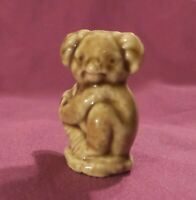 Vintage Red Rose Tea KOALA Wade Whimsies England Collectable Figurine Miniature