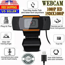 1080P Webcam Auto Focusing Web Camera Hd Cam Microphone For Pc Laptop Desktop