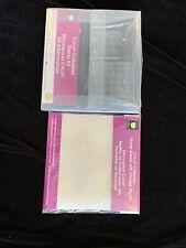 Cricut Cuttables Stamp Kit And  Stamp Sheet With Storage Pouch, New