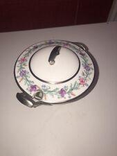 Royal Worcester Elysian Fine Bone China Sugar Bowl With Lid/England PLEASE READ