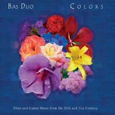 Bas Duo-Colors: Flute and Guitar Music from the 20th  (Importación USA) CD NUEVO