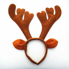 Christmas Deer Reindeer Antlers Horn Headband Unicorn Fantasy Costume Party Hot