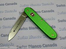 Swiss Bianco Exclusive Victorinox Solo Apocalypse Green Alox Swiss Army Knife