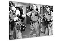 BLACK AND WHITE GHOST BUSTERS FILM PICTURES CANVAS WALL ART PRINTS FRAMED POSTER