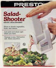 Presto 02910 Salad Shooter Electric Slicer/Shredder - New In Box! Vintage 1999