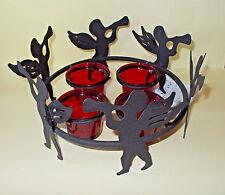 Adventskranz mit Engeln - Tischdeko Weihnachten