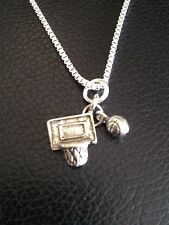 Basketball Board and Ball Necklace- New!