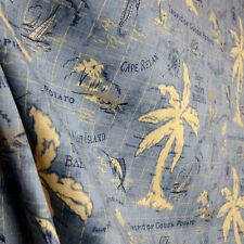 Island Song Ocean Outdoor Fabric Tommy Bahama Waverly