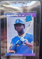 1989 DONRUSS #33 KEN GRIFFEY JR ROOKIE CARD RC SEATTLE MARINERS HOF