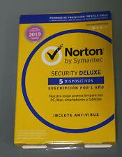 NORTON (Internet) SECURITY DELUXE 5-Geräte 2019 (B673-R39)