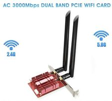 EDUP 2.4/5.8GhS Wifi 6 3000Mbps AX200NGW PCI-E Wireless Card Adapter Bluetooth 5