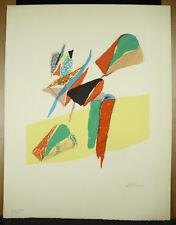 Estampe originale 27/50 artiste à ?? art moderne modernisme surréaliste cubiste