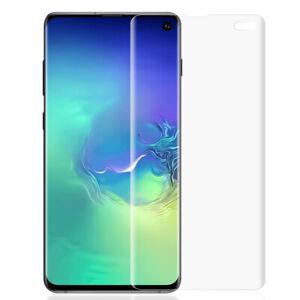2x Panzer Folie für Samsung Galaxy S10 PLUS Display Schutz Folie 3D Full Cover