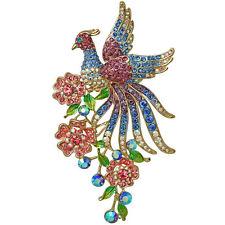 Garden Pin March 2014 Gold Tone New Kirks Folly Bird Of Paradise Spring
