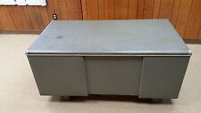 Vintage Metal Tanker Desk Industiral