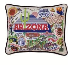 Cat Studio Arizona University Pillow 20 X 20 Embrodered Wild Cats Cochise Hall