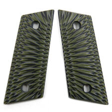 G10 Grips for CZ 2075 RAMI and RAMI BD with Decocker Olive Black DTRMJ621