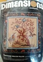 Dimensions Traditional Tapestry Pillow needlepoint kit Timothy Glenn Sealed