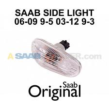 NEW SAAB FENDER SIDE MARKER LIGHT TURN SIGNAL 9-3 03-12 9-5 06-10 12777318 OEM