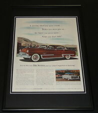 1953 DeSoto Framed ORIGINAL 12x18 Vintage Advertisement Display