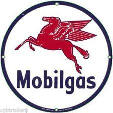 Mobil Gas Sign  Refrigerator  Magnet