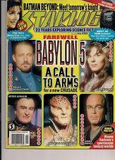 Starlog No.259 1999  TERRY NATION DOCTOR WHO, BABYLON 5 ENDING
