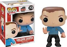 The Big Bang Theory - Sheldon Cooper Star Trek Spock Pop! Vinyl Figure NEW Funko
