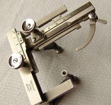 Vintage REICHERT Micrometer Microscope Mechanical Stage, KREUZTISCH